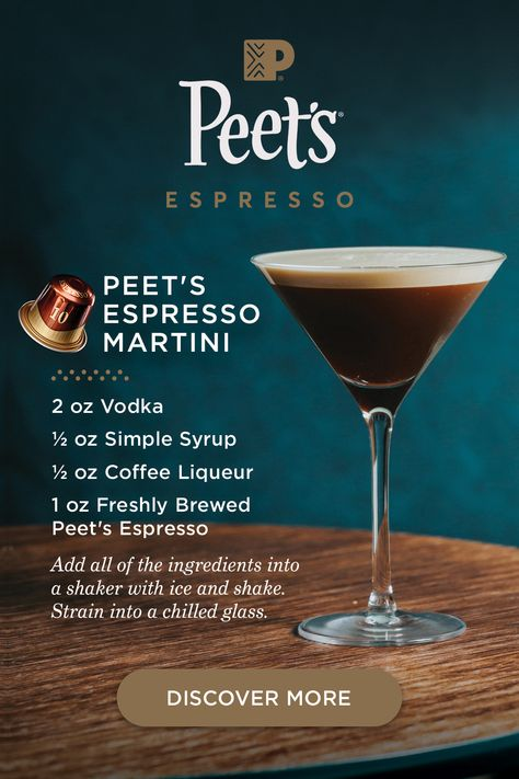 try using a bold dark peet s espresso capsule to make our favorite espresso