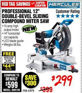 Setting Up Shop Hand Power Tools Harbor Freight Tools Compound Mitre Saw Sliding Compound Miter Saw