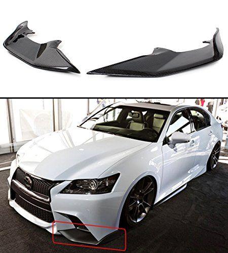 2 Pc Jdm Carbon Fiber Front Bumper Splitters Lip For 2013 2015 Lexus Gs350 F Sport Https Automotive Boutiquecloset Com Product 2 Pc Lexus Carbon Fiber Jdm