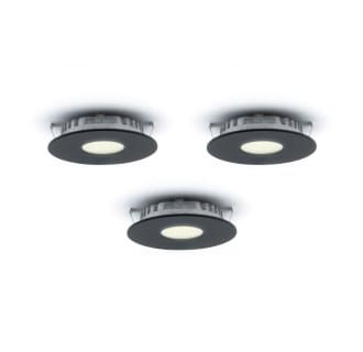 Dals Lighting K4001 Bk Black Superpuck 3 Light Led Recessed Puck Light Kit With Plug In Power Supply 3000k 12 Volts Puck Lights Recessed Lighting Recessed Lighting Kits