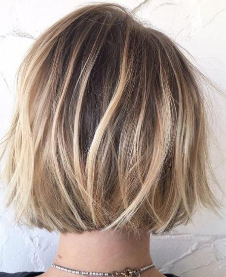 Long Layers Short Hair Styles Chin Length Hair Bob Hair Color