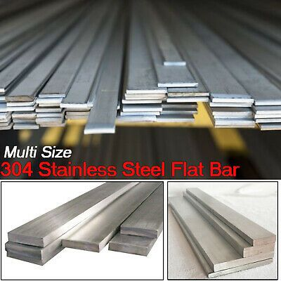 Ad Ebay 304 Stainless Steel Flat Bar 500mm Long Metal Strip Plate Select Wide 10mm 10 Stainless Steel Flat Bar Stainless Steel Sheet Metal Steel Sheet Metal
