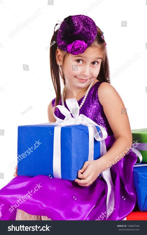 Girl Colorful Latex Balloons Stock Photo (Edit Now) 781737910