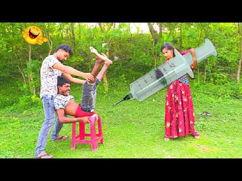 Injection Video Youtube In 2021 New Funny Videos Funny Gif Boys Are Stupid