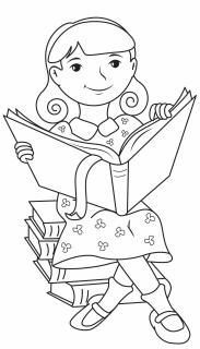 Matilda Colouring Page Colouring pages Games for Kids
