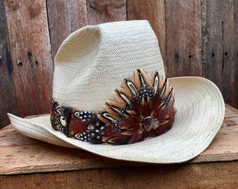 Brimmakers By Brimmakers On Etsy Feather Hat Hat Bands Hat Band