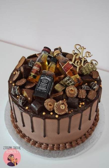 30 Trendy Birthday Cake Ideas For Adults Jack Daniels Cake