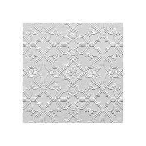 Brewster RD0671 Maxwell Paintable Textured Vinyl Wallpaper white