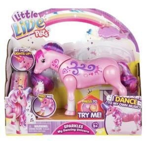 Little Live Pets Sparkles My Dancing Unicorn Little Live Pets Unicorn Gifts Unicorn