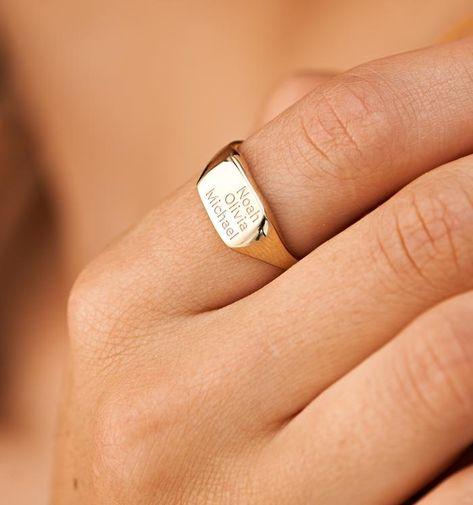 Signet Ring for Women – Rellery