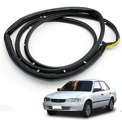 Rear Lh Weatherstrip Door Rubber Seal Fits Toyota Corolla Ae100 Ae101 1993 94 98 Toyota Corolla Door Weather Stripping Corolla