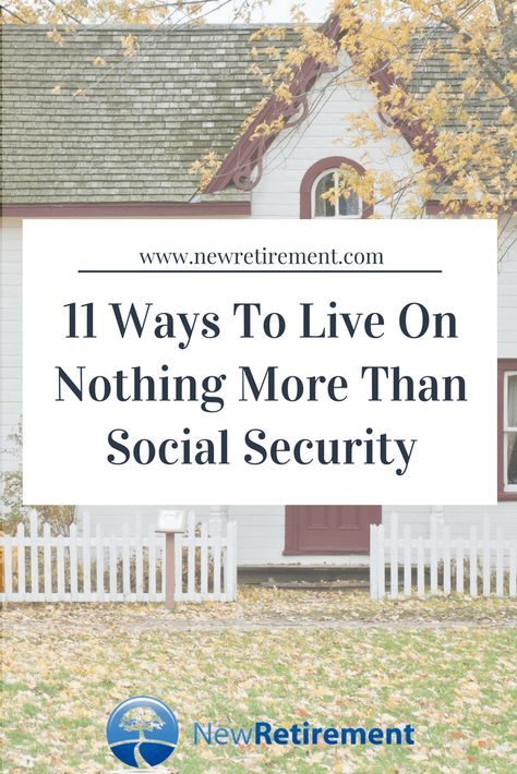 Living on Social Security alone really is possible. Get the scoop on 11 ways to make it work for your situation. Read now! Preparing For Retirement, Retirement Advice, Early Retirement, Retirement Planning, Retirement Cards, Retirement Strategies, Funeral Planning, Social Security Benefits, Savings Plan