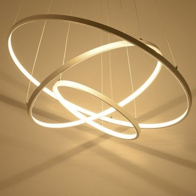 Creative Ring Shape Led Pendant Light 48w Sitting Room Dining Room Lamp Only 169 99 With Coupo Lighting Ceiling Lamp Ceiling Lights Living Room Led Chandelier