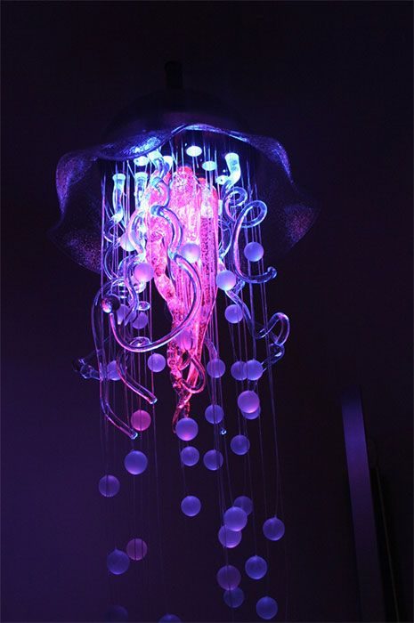 Lights like youve never seen them jellyfish chandeliers and circuits mozeypictures Choice Image