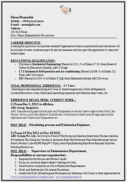 Mukesh Gaur Saved To Resumepin356sample Template Of A Experienced Mechanical Enginee Mechanical Engineer Resume Engineering Resume Engineering Resume Templates