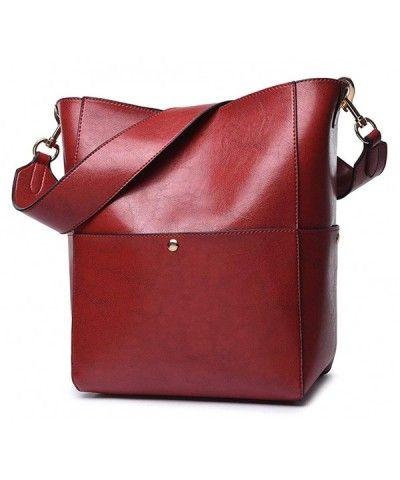 1777200fdacb Womens Leather Handbags Shoulder Bag Ladies Designer Purse Cross ...