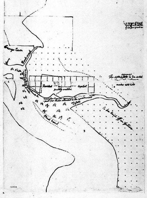 Thomas Jefferson's Plan for Washington, D.C. (March, 1791)
