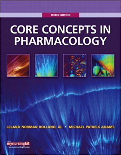 Test Bank For Core Concepts In Pharmacology 3rd Edition