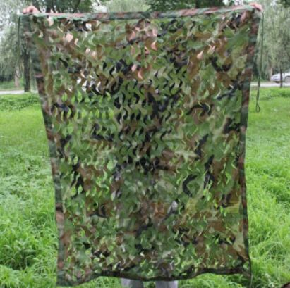 Military 1mx2m Oxford Cloth Jungle Camouflage Net Camo