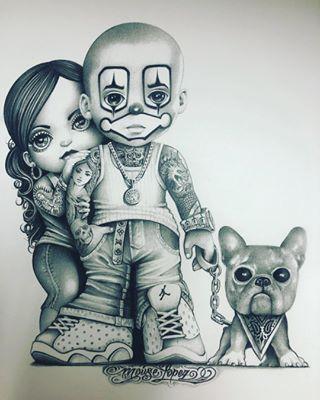 Gangster Love Drawings : gangster, drawings, Tats#4