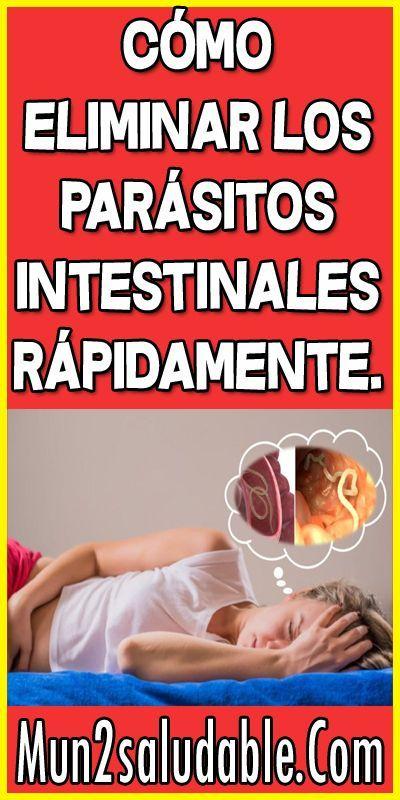 como curar los parasitos del estomago