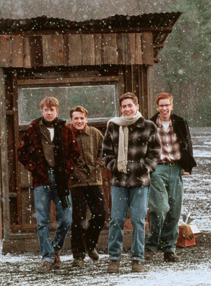 """October Sky"" a/k/a ""Rocket Boys"". Biographical films are always the best ones! ""October Sky"" has a special place in my heart."