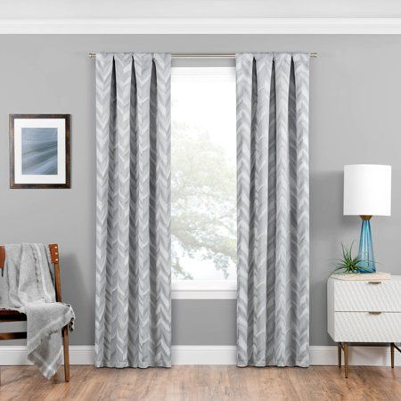 Haley Blackout Curtain Single Panel Walmart Com Panel Curtains
