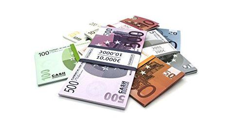Cashbricks 100 x $100 Dollar Spielgeld Scheine