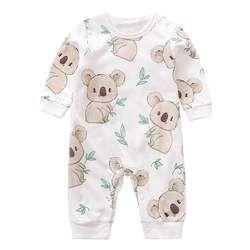 100/% Cotton BABY Girl Printed Plain Chest Babygrow Bodysuit Sleepsuit Rompersuit