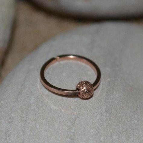 1c2e2fec4 TRAGUS EARRING Gold // Nose Ring - Nose Ring Stud - Forward Helix Earring -