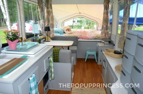 Painted Camper Cabinets You Ll Fall In Love With With Images