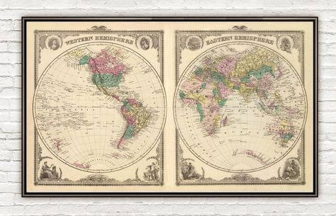 24x36 Vintage Reproduction Historic Map Winnipeg Canada 1884
