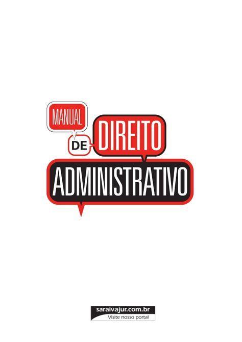 Manual De Direito Administrativo Alexandre Mazza Direito