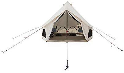 Amazon.com  White Duck Outdoors Avalon Canvas Bell Tent for Gl&ing u0026 C&ing 4M (13u0027) Water Repellent  Sports u0026 Outdoors  sc 1 st  Pinterest & Amazon.com : White Duck Outdoors Avalon Canvas Bell Tent for ...