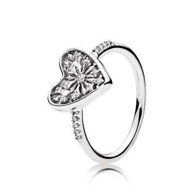 pandora anello cuore sigillo