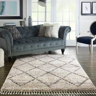 Carson Carrington Hjaltaryd Scandinavian Diamond Trellis Shag Rug Colorful Rugs Area Rugs Rugs
