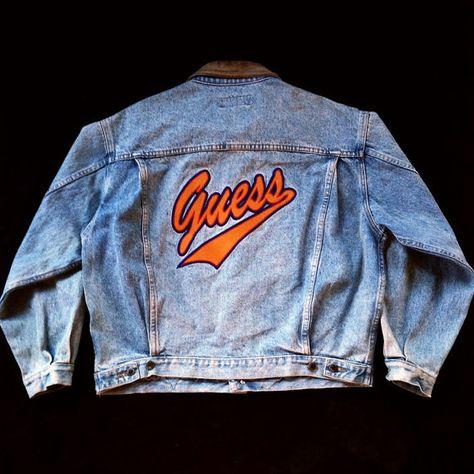 Best Vintage 90s GUESS Jeans fitted coat Stone Acid Wash Blue Guess Denim coatfashion 90s Long Jean coatbuttons belt Maxi Jean coatXS-S
