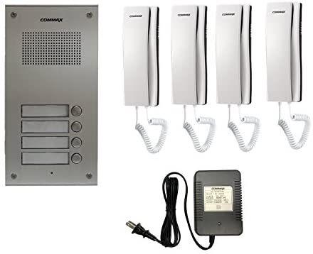 Com Commax 4 Apartment Building, Commax Audio Intercom Wiring Diagram