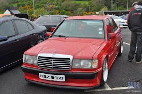 Mercedes Benz 190d W201 Red On Bbs Wheels Mercedes Mercedes Benz