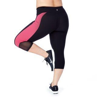 Rainbeau Curves Womens Plus Size Curve Basix Compression Capri