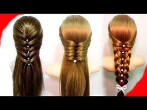 7 Easy Hairstyles For Long Hair Best Hairstyles For Girls Youtube Easy Hairstyles Cool Braid Hairstyles Braided Hairstyles Easy