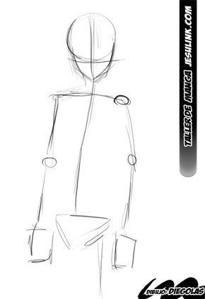 Taller De Manga Como Dibujar Un Chico Manga Como Dibujar Como Dibujar Cuerpos Como Dibujar Cuerpo Anime