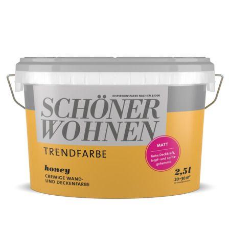 Honey Schoner Wohnen Farbe In 2020 Schoner Wohnen Farbe Schoner Wohnen Wandfarbe Schoner Wohnen Trendfarbe