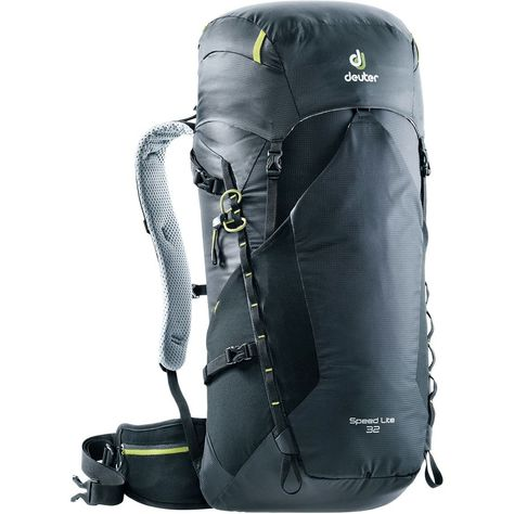 58afde71c6 The Deuter Speed Lite 32L Backpack weighs less so you can pack more. Coming  in at less than two pounds, it still offers 1950 cubic inches of space for a  ...