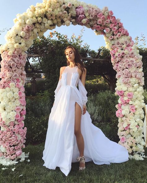 Youll Love This Bloggers Half-Naked Wedding Dress