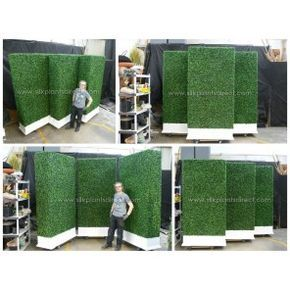 PermaLeaf® Boxwood Hedge Wall Privacy Screen Source by suewesselhoft