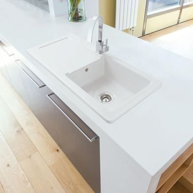 Clearwater Small White Ceramic Laundry Sink 395 X 610mm In 2020 Ceramic Kitchen Sinks White Ceramic Kitchen Sink Sink