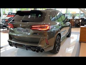 New Bmw X5m Competition 2020 Visual Review And Specs 625 Hp Sportscar X5 M Youtube Bmw Black Audi Sportscar