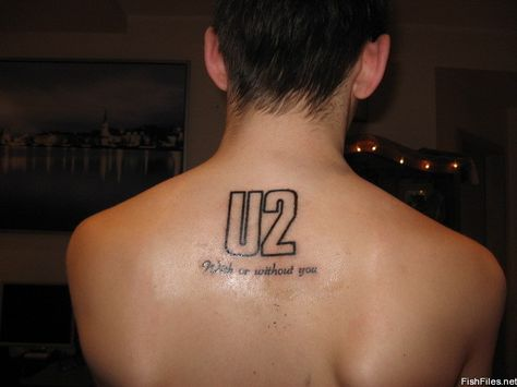 U2 with or without you Tattoo