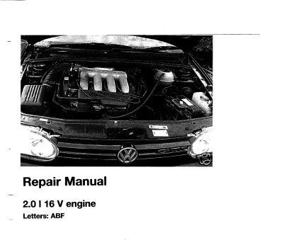 New Post Vw 2 0 16v Abf Engine Service Repair Manual Has Been Published On Procarmanuals Com Engine Vw Https Procarmanuals Com Repair Manuals Repair Abf